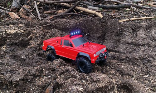 DRIVE & FLY MODELS DF-4S V2 PICK UP CRAWLER ROT 1/10 RTR 4WD